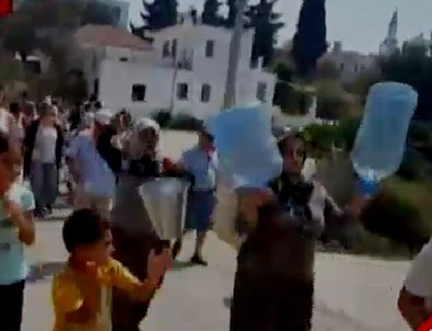 Bodrum'da CHP'ye kovalı, bidonlu isyan