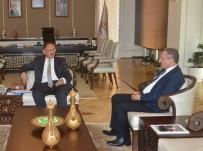 ÇEVRE VE ŞEHİRCİLİK BAKANLIĞI - ERÜ Rektörü Güven, Bakan Özhaseki'yi Ziyaret Etti