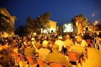 FİLM GÖSTERİMİ - Han Sakinleri Sokakta Sinema Keyfi Yaşadı