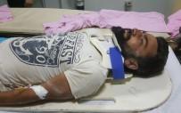 DICLE ÜNIVERSITESI - İnşaattan Düşen İşçi Ağır Yaralandı