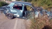 SOĞUKPıNAR - Kastamonu'da Alkollü Sürücü Beton Mikserine Çarptı