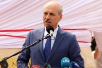 AHMET MISBAH DEMIRCAN - Kültür Ve Turizm Bakanı Kurtulmuş, Manas Heykeli Açılış Töreninde Konuştu
