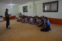 TRAFİK KURALLARI - Kur'an Kursu Öğrencilerine 'Boğulma' Anlatıldı