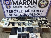 Mardin Merkezli 4 İlde Terör Operasyonu Açıklaması 25 Gözaltı