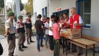 Mültecilere Kızılay'dan Şefkat Eli