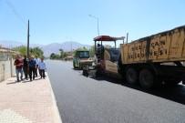 HALITPAŞA - Şehit Albay Faruk Sungur Caddesinde Asfalt Çalışmaları
