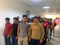 Siirt'te Afgan Uyruklu 47 Kaçak Yakalandı