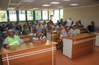 İŞ SAĞLIĞI VE GÜVENLİĞİ - Turgutlu Belediyesi Personeline İş Kazası Eğitimi