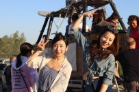Uzakdoğulu Turistler Balon Turu Yapmadan Gitmiyor