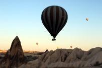 Uzakdoğulu Turistler Kapadokya'dan Balon Turu Yapmadan Gitmiyor