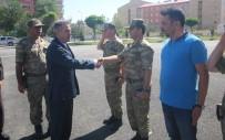 Vali Elban'dan İl Jandarma Komutanı Şahin'e Ziyaret
