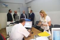 ALI CANDAN - Vali Kamçı'dan Kocasinan Ve Melikgazi İlçe Nüfus Müdürlüklerine Ziyaret
