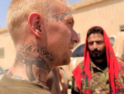 YPG'ye katılan Amerikan askeri