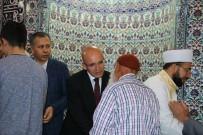 ALI YERLIKAYA - Başbakan Yardımcısı Şimşek, Bayram Namazını Gaziantep'te Kıldı