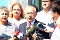 LALE KARABıYıK - CHP Lideri Kılıçdaroğlu, Tutuklu Milletvekili Enis Berberoğlu'nu Ziyaret Etti