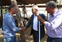 ABDULLAH ERIN - Demirkol Vatandaşlarla Bayramlaştı