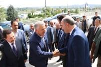 DEMİRYOLU PROJESİ - Bakan Ahmet Arslan Valiliği Ziyaret Etti