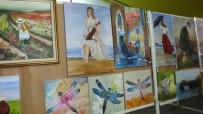 Burhaniye'de Bayan Ressamlara Teşekkür Belgesi