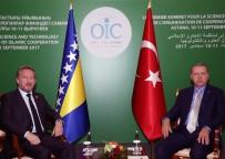 DEVLET BAŞKANLIĞI - Cumhurbaşkanı Erdoğan, Bakir İzzetbegoviç İle Görüştü