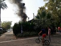 Erdek'te Restaurant Yangını