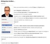 ERTUĞRUL ÖZKÖK - Ertuğrul Özkök Ve Ahmet Hakan'a Cevap