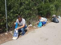 PAZARKULE - Gönüllüler Bu Kez De Gurbetçilerin Çöplerini Temizledi