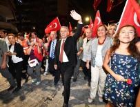 İZMİR KÖRFEZİ - İzmir'de Fener Alayı Coşkusu