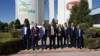 TARıM BAKANı - KKTC Tarım Bakanı Nazım Çavuşoğlu, Konya Şeker'i Ziyaret Etti