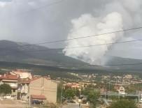 BALLıCA - Kütahya'da Orman Yangını Sürüyor