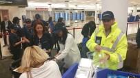 MIAMI - Miami Uluslararası Havalimanı'nda 47 Yolcu Mahsur Kaldı