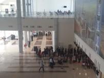 AHMED-I HANI - Ahmed-İ Hani Havalimanı'ndan 25 Bin 375 Yolcu Uçtu
