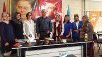 ERMENILER - Ak Parti Kadın Kolları Asimder'i Ziyaret Etti