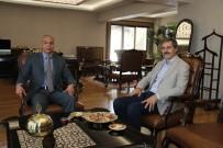 EMNIYET MÜDÜRLERI KARARNAMESI - Başkan Alemdar'an İl Emniyet Müdürü Kaya'ya Ziyaret
