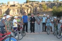 YÜZME KURSU - Başkan Karayol, 'Yaşam İçin Pedalla' Programına Katıldı