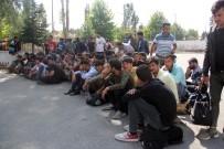 DOĞUBEYAZıT - Bolu'da 121 Kaçak Göçmen Yakalandı