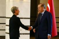AVUSTURYA - Cumhurbaşkanı Erdoğan, Avusturya Büyükelçisi Tilly'i Kabul Etti