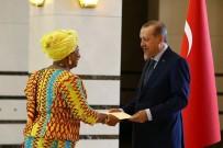 GANA CUMHURİYETİ - Cumhurbaşkanı Erdoğan, Gana Büyükelçisi Mancell-Egala'yı Kabul Etti