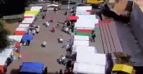 PAZARCI - Duvar pazardakilerin üzerine yıkıldı