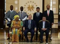 GANA CUMHURİYETİ - Erdoğan Gana Büyükelçisi Mancell-Egala'yı Kabul Etti