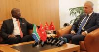 SÜLEYMAN KAMÇI - Güney Afrika Cumhuriyeti Büyükelçisi Vali Kamçı'yı Ziyaret Etti