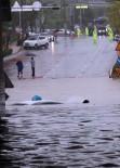 OKUL TATİL - Güney Kore'de Busan Şehrini Sel Bastı
