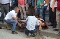 CEBRAIL - Kastamonu'da Cadde Ortasında Silahlı Kavga Açıklaması 1 Yaralı