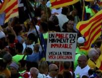 DİKTATÖRLÜK - Katalanlar, sokağa döküldü