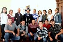 Kazak Öğretim Üyeleri Ve Öğrencilerden ARÜ'ye Ziyaret