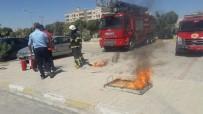 YANGIN TATBİKATI - Midyat Devlet Hastanesinde Yangın Tatbikatı