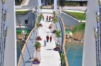 PAZARCI - Modern Yaya Köprüsü Açılıyor