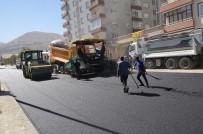 NİKAH SARAYI - Palandöken Belediyesi'nde Asfalt Sezonu Bitmiyor