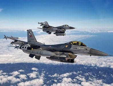 Saldırı hazırlığındaki teröristlere hava operasyonu