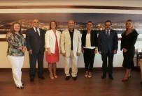 ALTıNOK ÖZ - TASİAD'dan Başkan Öz'e Ziyaret