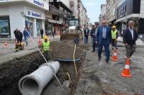 ŞEBEKE HATTI - Terme'ye 15 Milyon Liralık Alt Yapı Yatırımı